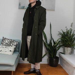 SCHNEIDERS Forest Green Loden Coat